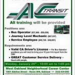 Ac Transit Jobs $37,000-$67,000Salary